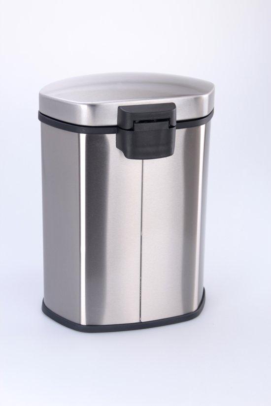 EKO Shell RVS Pedaalemmer 10 L