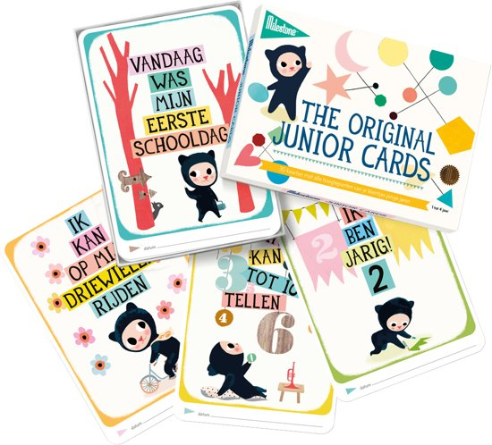 Milestone™ Junior Photo Cards