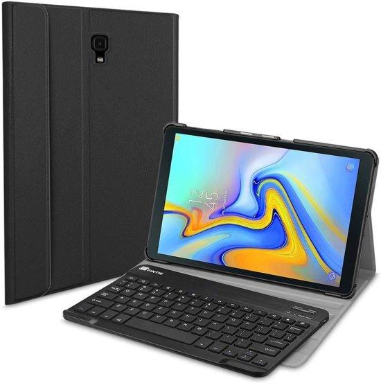 Tablet2you Samsung Galaxy Tab A 2016 toetsenbord in Leren Hoes - Zwart - 10.1