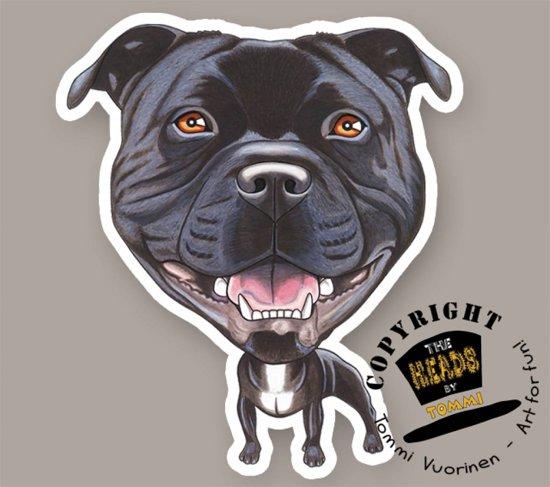 Magneet Hond Staffordshire Bull Terrier
