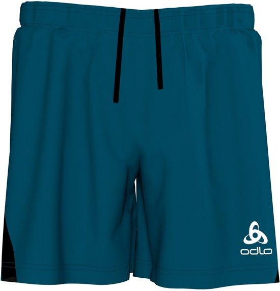 Odlo Shorts Element Light Heren Sportbroek - Blue Opal - Maat XL