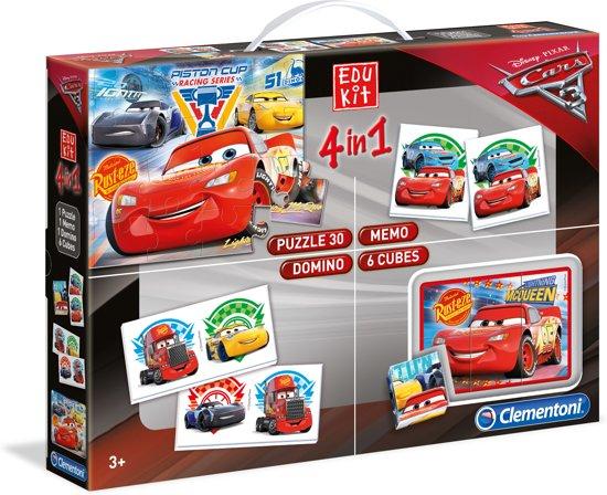 Afbeelding van het spel Superkit Cars 3 4 in 1 Clementoni