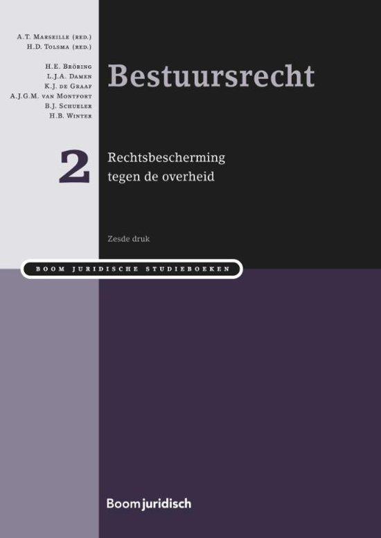 Boom Juridische studieboeken - Bestuursrecht deel 2