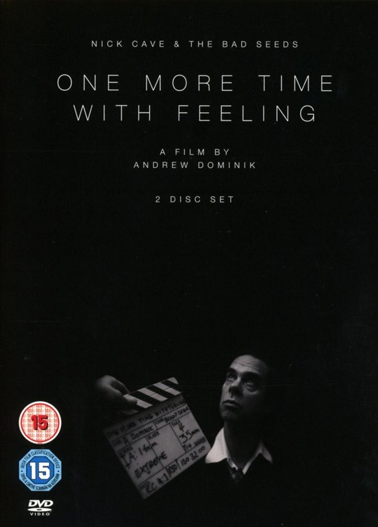CD cover van Nick Cave & The Bad Seeds - One More Time With Feeling van Nick, Cave