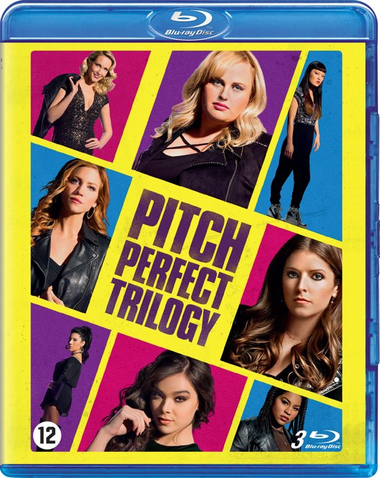 DVD cover van Pitch Perfect 1 t/m 3 (Blu-ray)