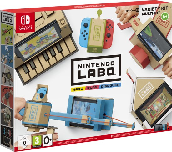 Nintendo Labo: Variety Kit (Nintendo Switch)