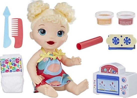Baby Alive Snack en Snoep Babypop - Blond