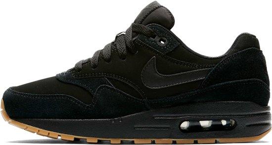Nike Air Max 1 Premium SC - Sneakers - Zwart/Wit - Dames - Maat 38.5