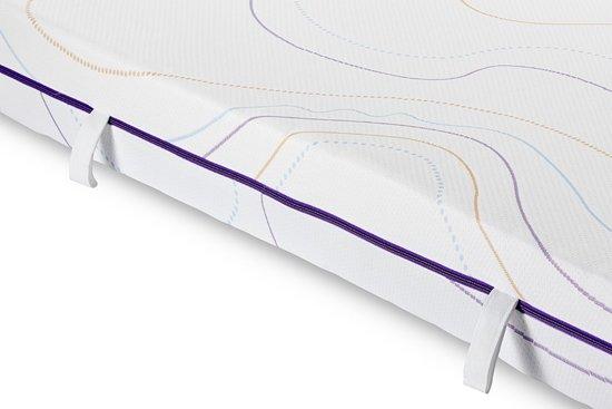 M line Wave Light koudschuim matras - 125 nachten proefslapen - 2 hardheden - 140x200 cm