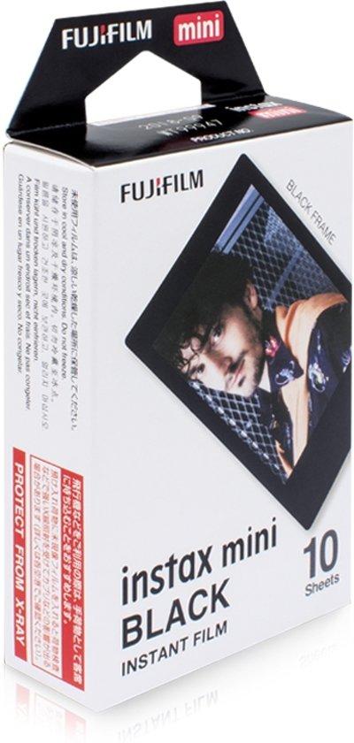 Fujifilm Instax Mini Colorfilm - Black Frame - 10 stuks