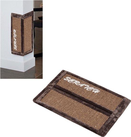 Trend rockefeller scratchboard Bruin 58x40x1,5CM