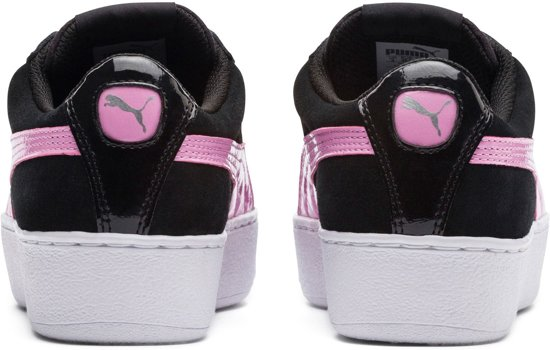 Puma puma Black Platform Kinderen Jr orchid Silver Vikky Sneakers rqHBrC