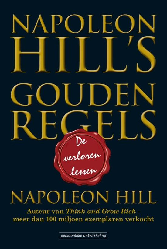 Napoleon Hill's Gouden Regels