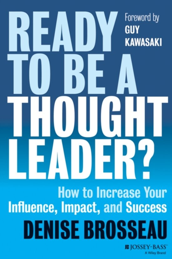 Bol ready to be a thought leader denise brosseau ready to be a thought leader fandeluxe Images