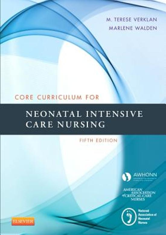 Bol Core Curriculum For Neonatal Intensive Care Nursing