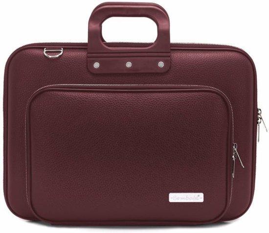 39291205659 bol.com   Bombata Plus Classic laptoptas 15,6 inch burgundy