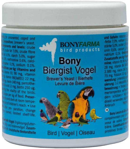 Bony Biergist Vogel