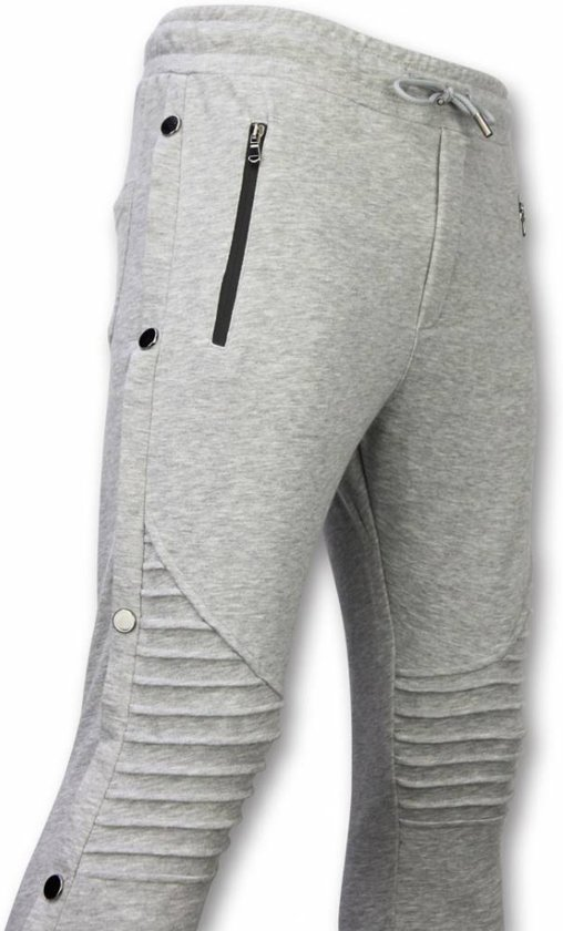 Casual Joggingbroek.Bol Com Enos Casual Joggingbroek Buttons Joggingbroek Grijs