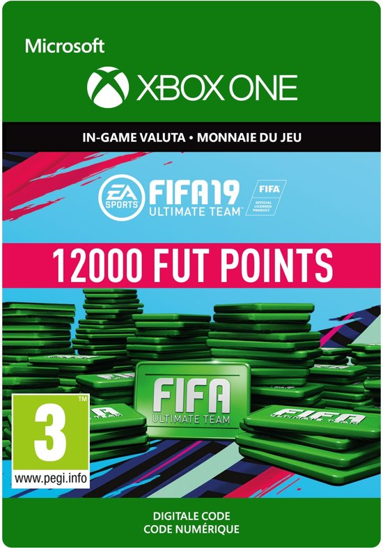 FIFA 19: Ultimate Team -  12.000 Points - Xbox One