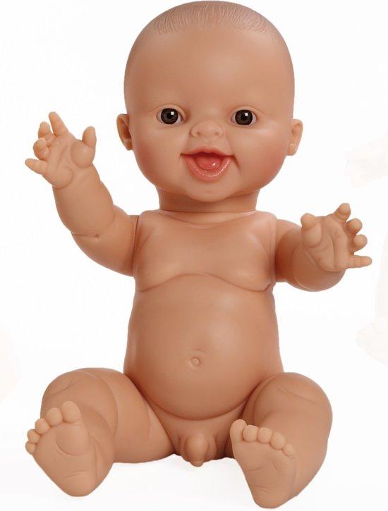 Paola Reina Pop Gordi Carlos (lachend), gekleed 34cm babypop