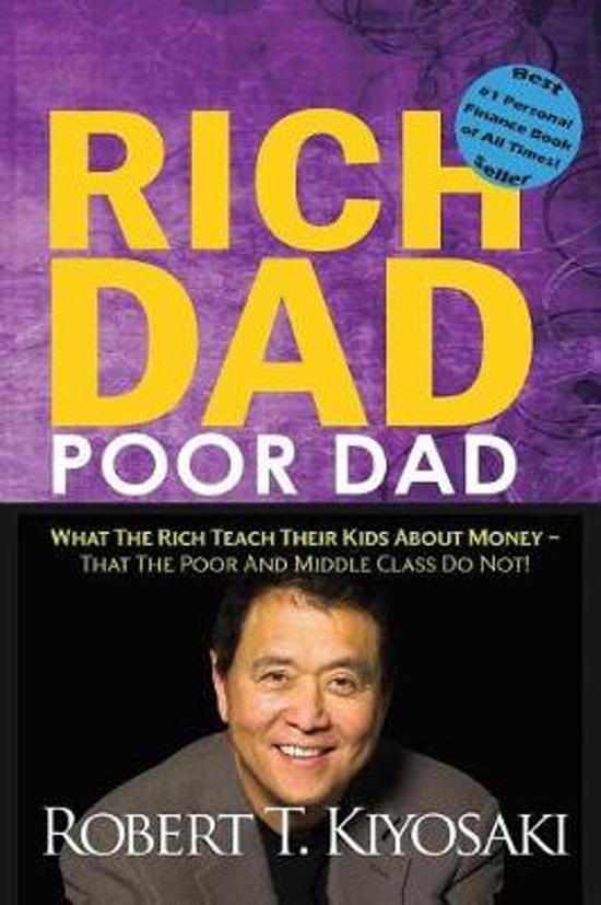 Boek cover Rich Dad Poor Dad van Robert Kiyosaki (Paperback)