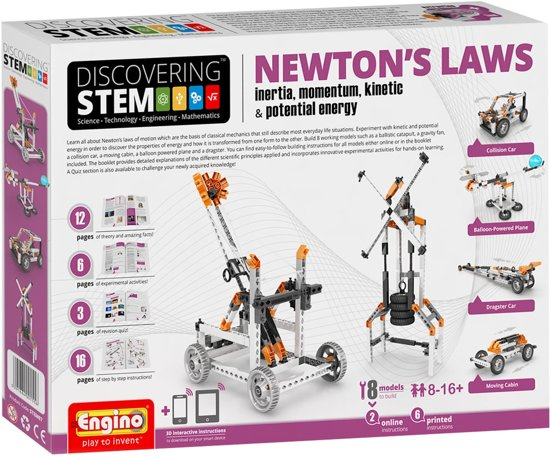 Canenco Engino Newton's Laws Educatieve Bouwset