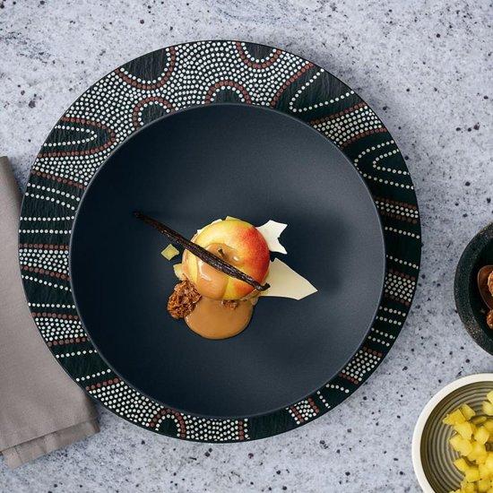 Villeroy & Boch Manufacture Rock Dessertschaal à 23,5 cm