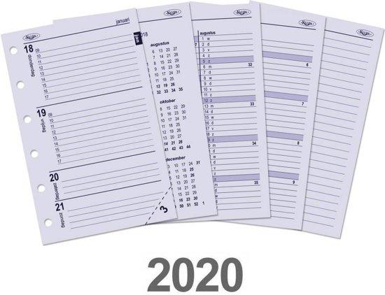 Afbeelding van Kalpa 6237-20 Pocket-Junior organiser week agenda NL 2020