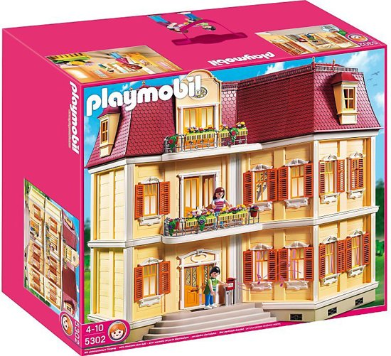 Playmobil groot woonhuis 5302 playmobil for Modele maison playmobil