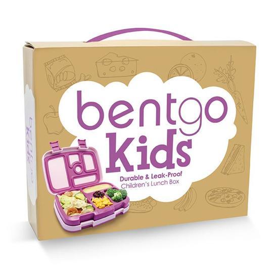 Bentgo Kids - Bento lunchbox voor kinderen - paars