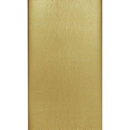 Goudkleurig tafelkleed 138 x 220 cm - wegwerp tafellaken