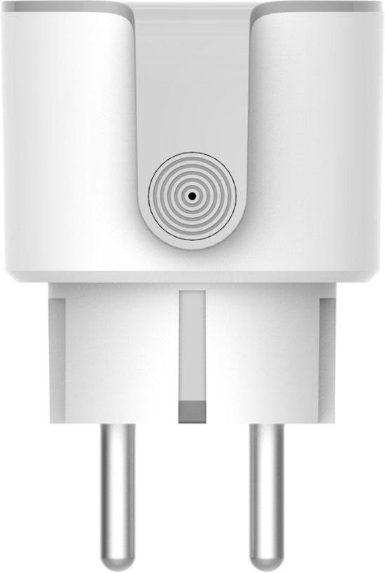 Slimme stekker (smart plug)  op afstandbedienbaar, werkt met smartphone, Alexa (Echo), Google Home (Google Assistant) en IFTTT