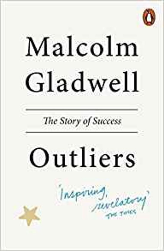 Boek cover Outliers van Malcolm Gladwell (Paperback)