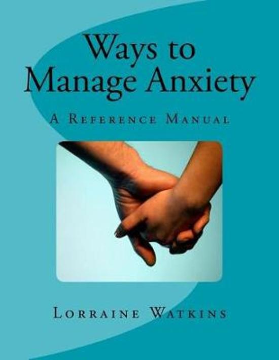Ways to Manage Anxiety