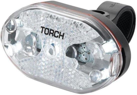 Torch Voorlicht White Bright 5x Led Batterij Wit