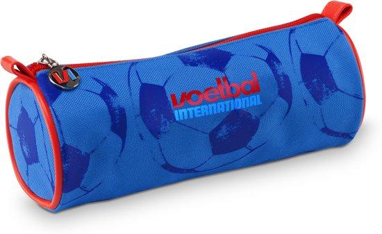 359d69bc26e Voetbal International Etui - Rond - Blauw