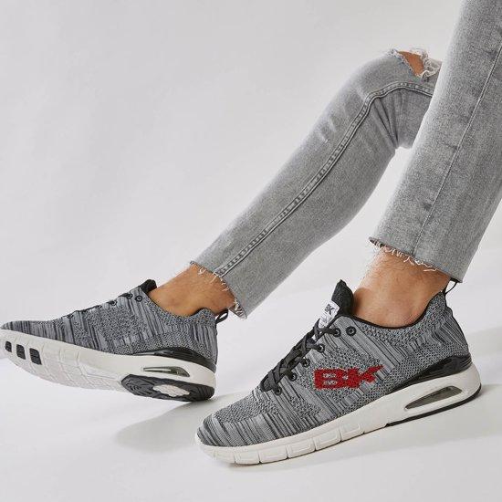 Laag Mesh Heren Sneakers Grey British Energy 43 Knights 0IqRWZv