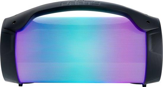 Bigben PARTYBTLITE - Bluetooth Party Speaker met LED-Verlichting - Zwart