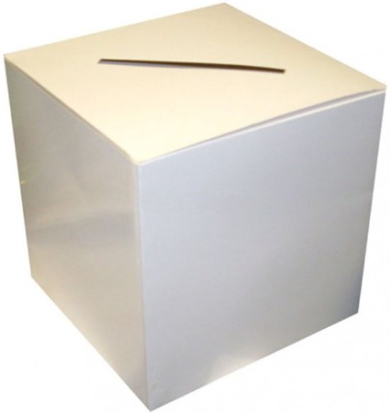 Enveloppendoos - 30 x 30 cm (blanco) Valentinaa