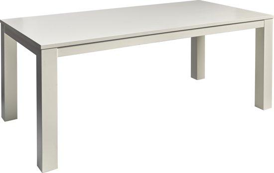 Witte Eettafel 220 Cm.Bol Com Eettafel Layton Wit 200 X 100 Cm