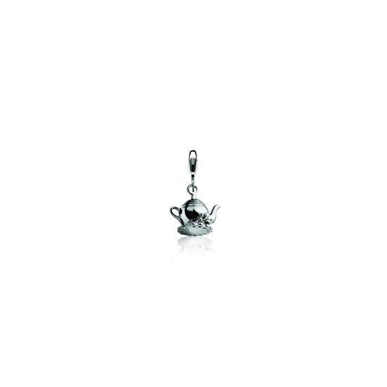 Zinzi Charms CHARMS248 Zilveren Bedel - Theepot