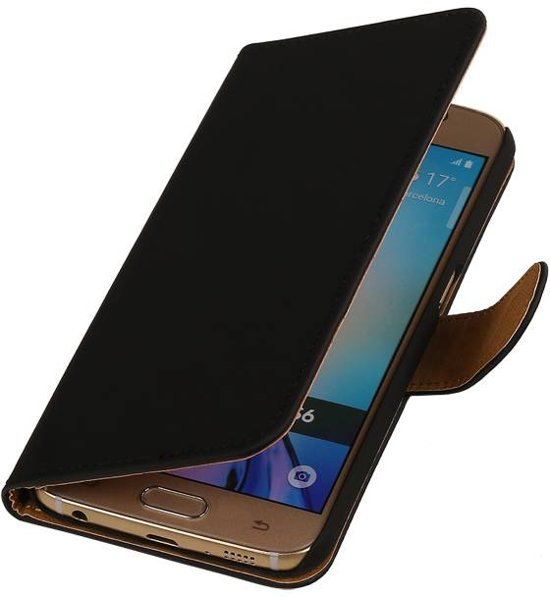Samsung Galaxy J3 J300F Zwart | bookstyle / book case/ wallet case Hoes  | WN™