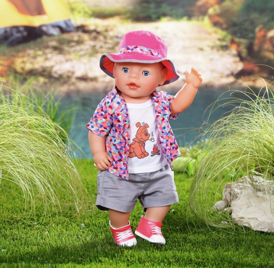 BABY born® Play&Fun Deluxe Camping Outfit