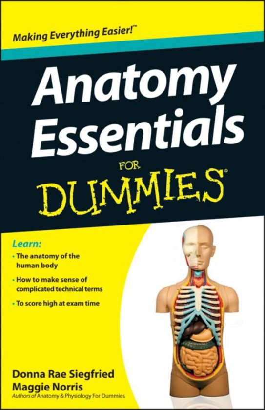 bol.com | Anatomy Essentials for Dummies, Maggie A. Norris ...