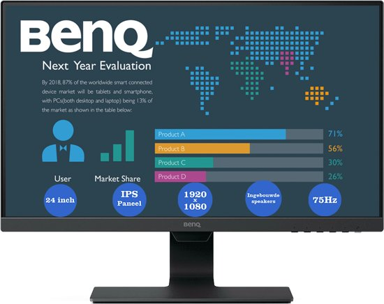 Bol.com benq bl2480 full hd ips monitor 24 inch