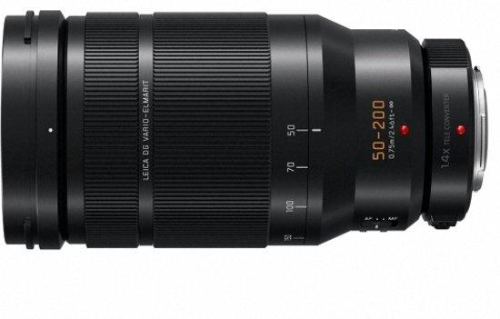 Panasonic Leica DG Vario-Elmarit 50-200mm f/2.8-4.0 Zwart