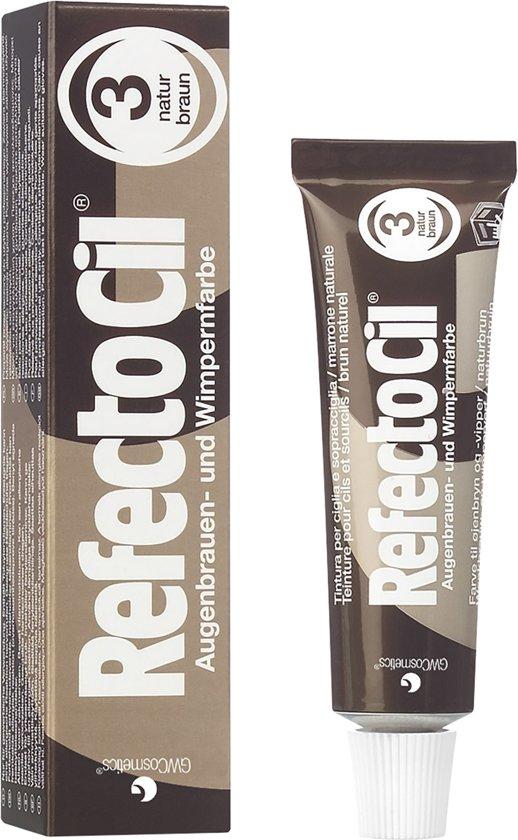 RefectoCil - Wimper & Wenkbrauw Verf - 3 Bruin - 15 ml
