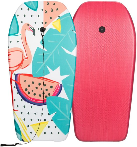 Waimea Bodyboard - Print II - Groen/Oranje/Aqua