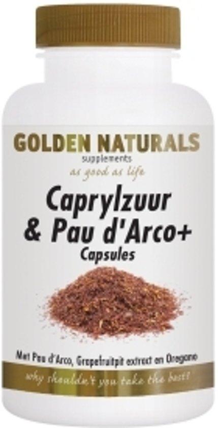 golden naturals verlichting golden naturals caprylzuur pau