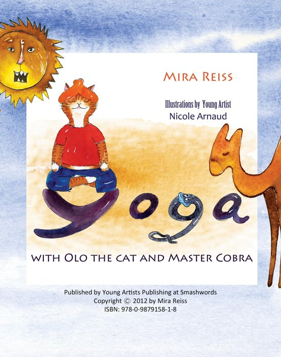 Yoga with Olo the Cat and Master Cobra